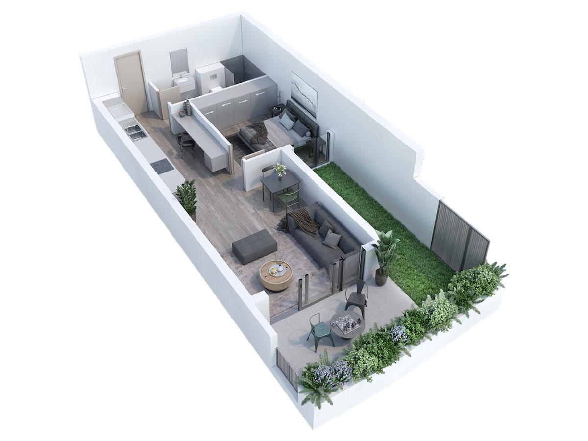 One Bedroom Apartment, Newlands Peak, Rawson Developers, Luxury Cape Town Apartments