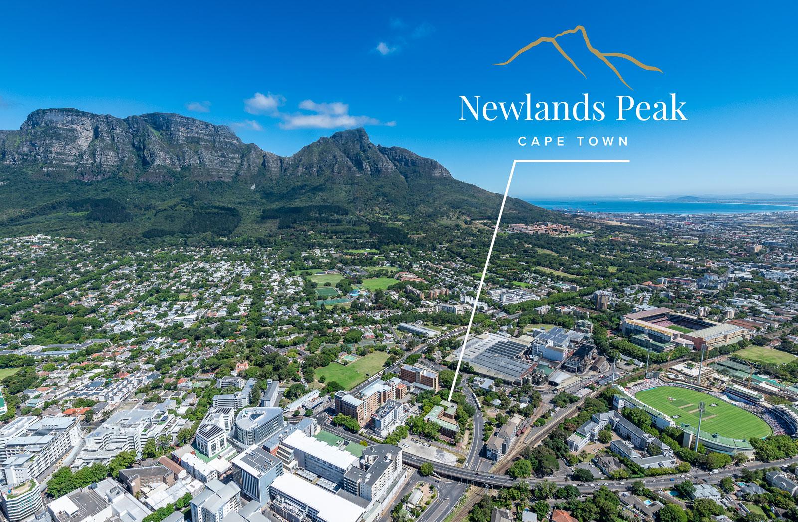 Location Marker, Newlands Peak, Rawson Developers, Luxury Cape Town Apartments
