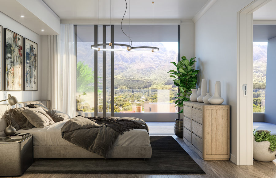 One Bedroom Apartment, Table Mountain View, Newlands Peak, Rawson Developers, Luxury Cape Town Apartments