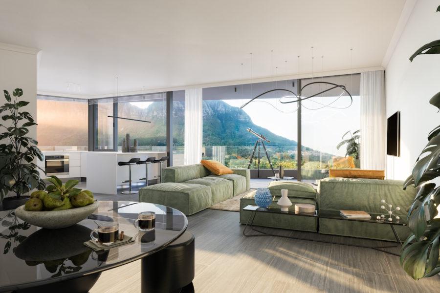 Penthouse Apartment, Newlands Peak, Rawson Developers, Luxury Cape Town Apartments
