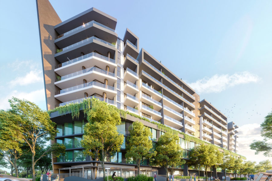 Hero Building Image, Newlands Peak, Rawson Developers, Luxury Cape Town Apartments
