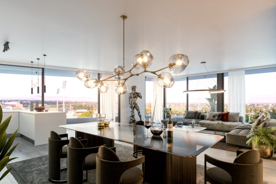 Two Bedroom Penthouse Apartment, Table Mountain View, Newlands Peak, Rawson Developers, Luxury Cape Town Apartments