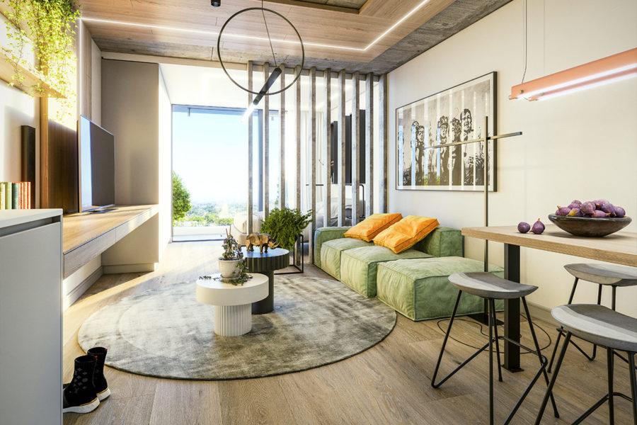 Studio Apartment, Newlands Peak, Rawson Developers, Luxury Cape Town Apartments