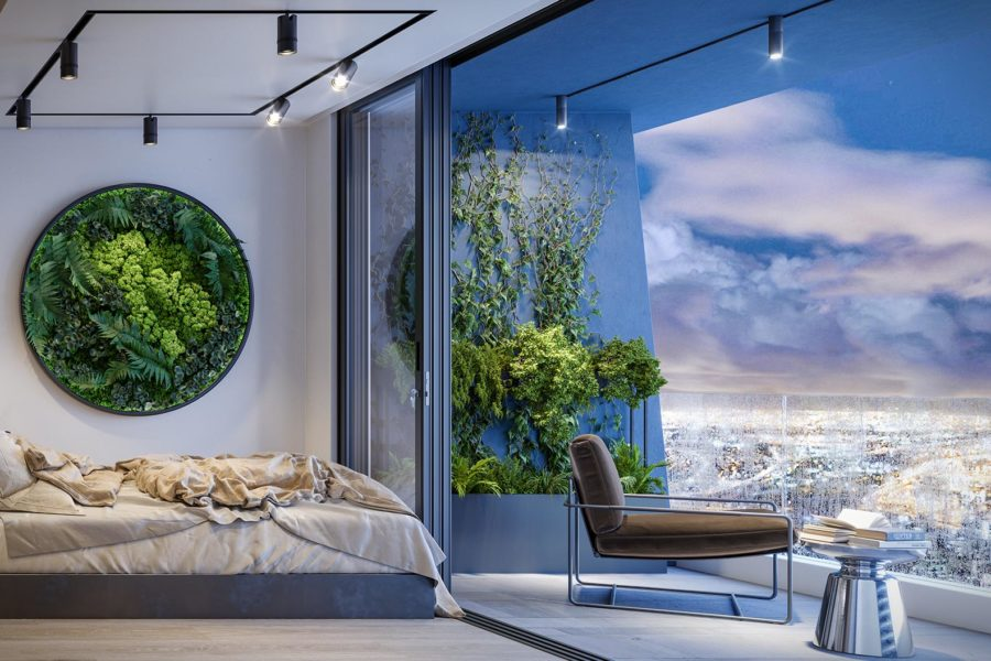 Newlands Peak, Rawson Developers, Luxury Cape Town Apartments, Penthouse View