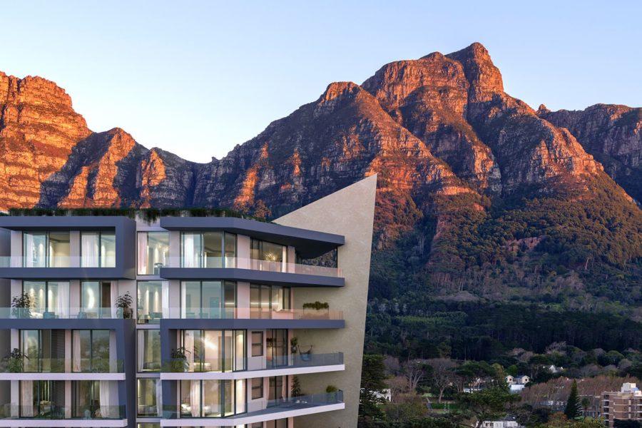 Newlands Peak, Rawson Developers, Luxury Cape Town Apartments, Devil's Peak View, Penthouses